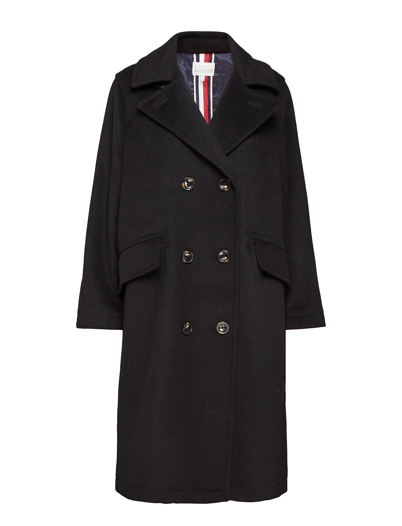 Tommy Hilfiger ICON CANDICE WOOL BL - BLACK BEAUTY