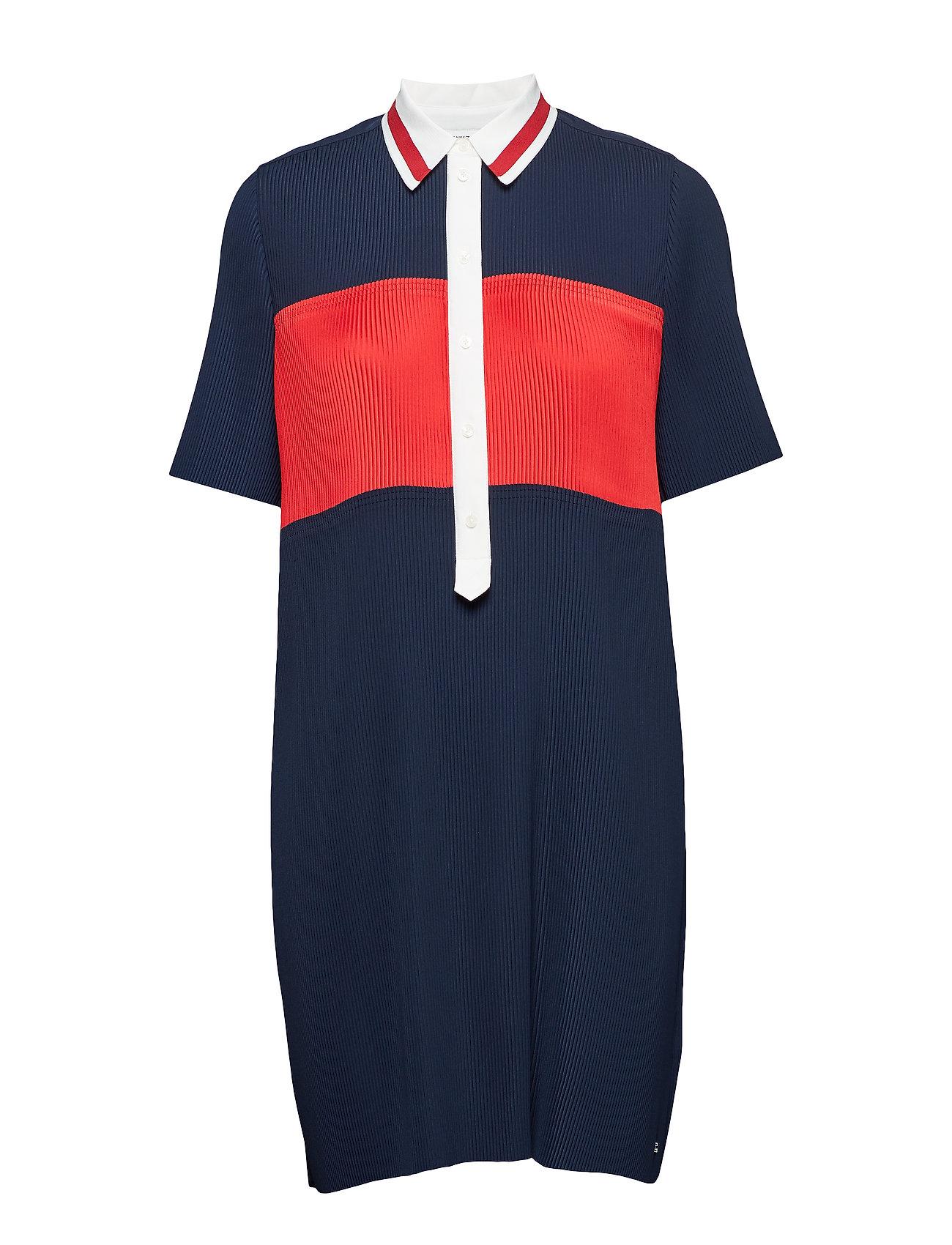 Tommy Hilfiger FRANCES DRESS SS, 40 - MIDNIGHT