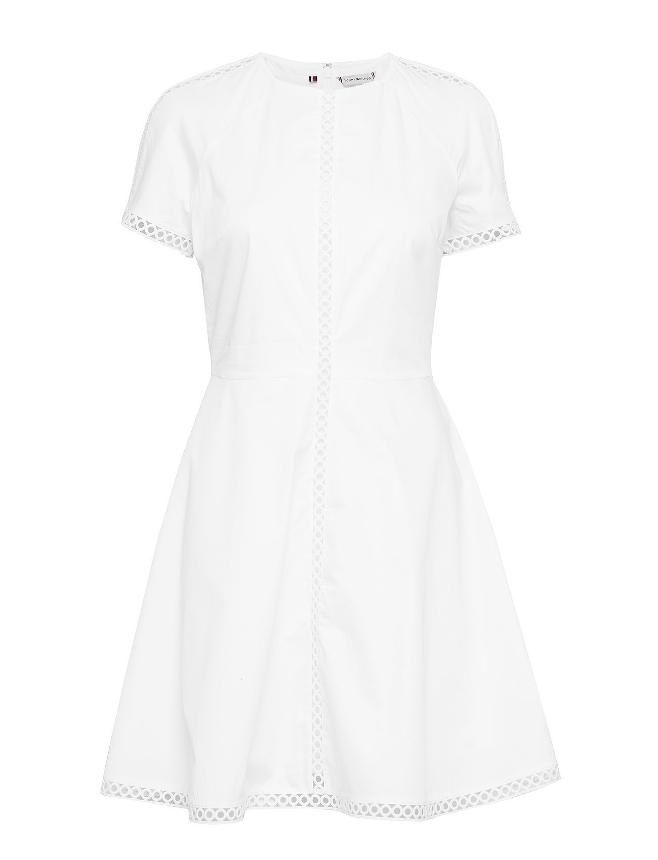 Tommy Hilfiger DARIA DRESS SS - CLASSIC WHITE
