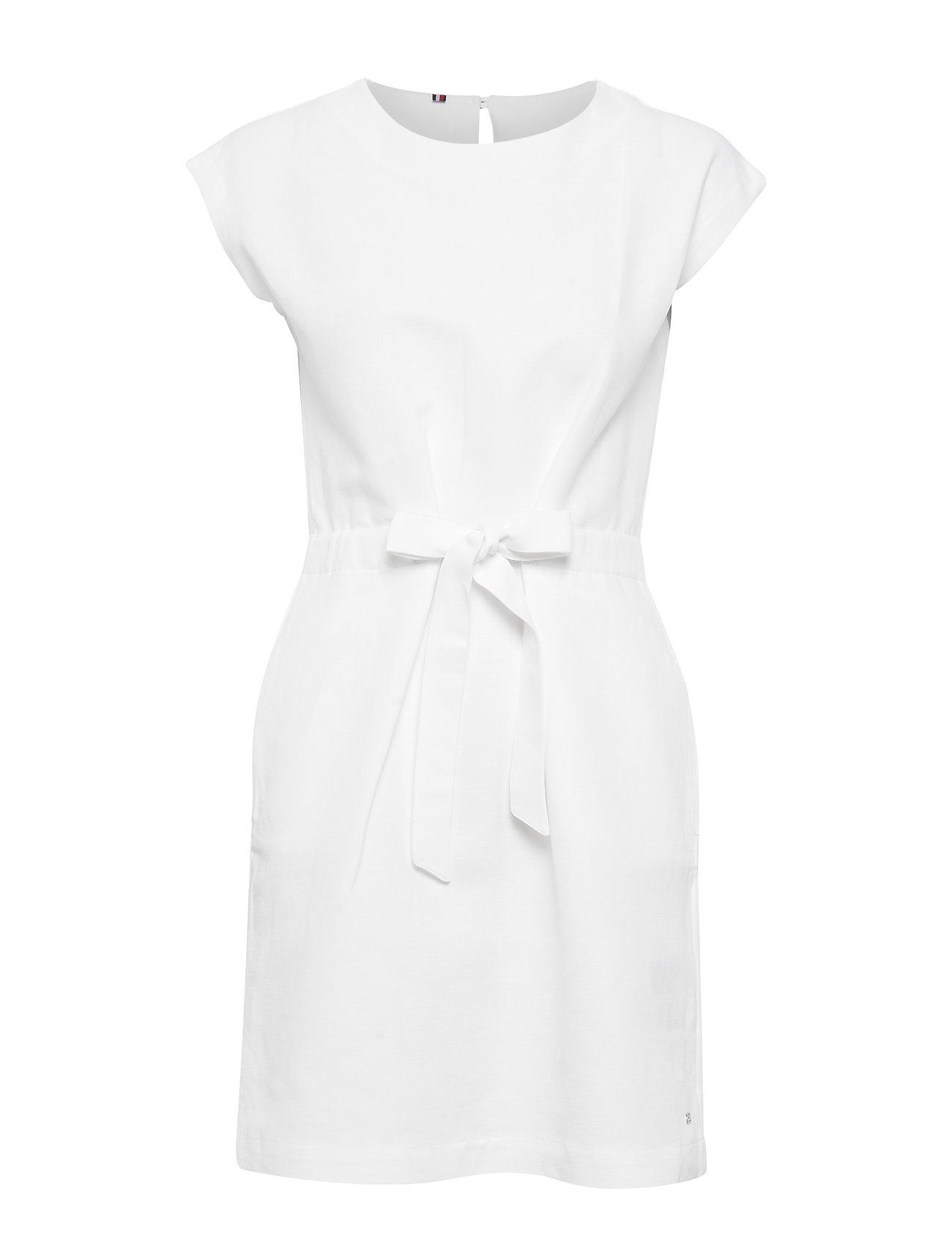 Tommy Hilfiger CAROLINA DRESS - CLASSIC WHITE