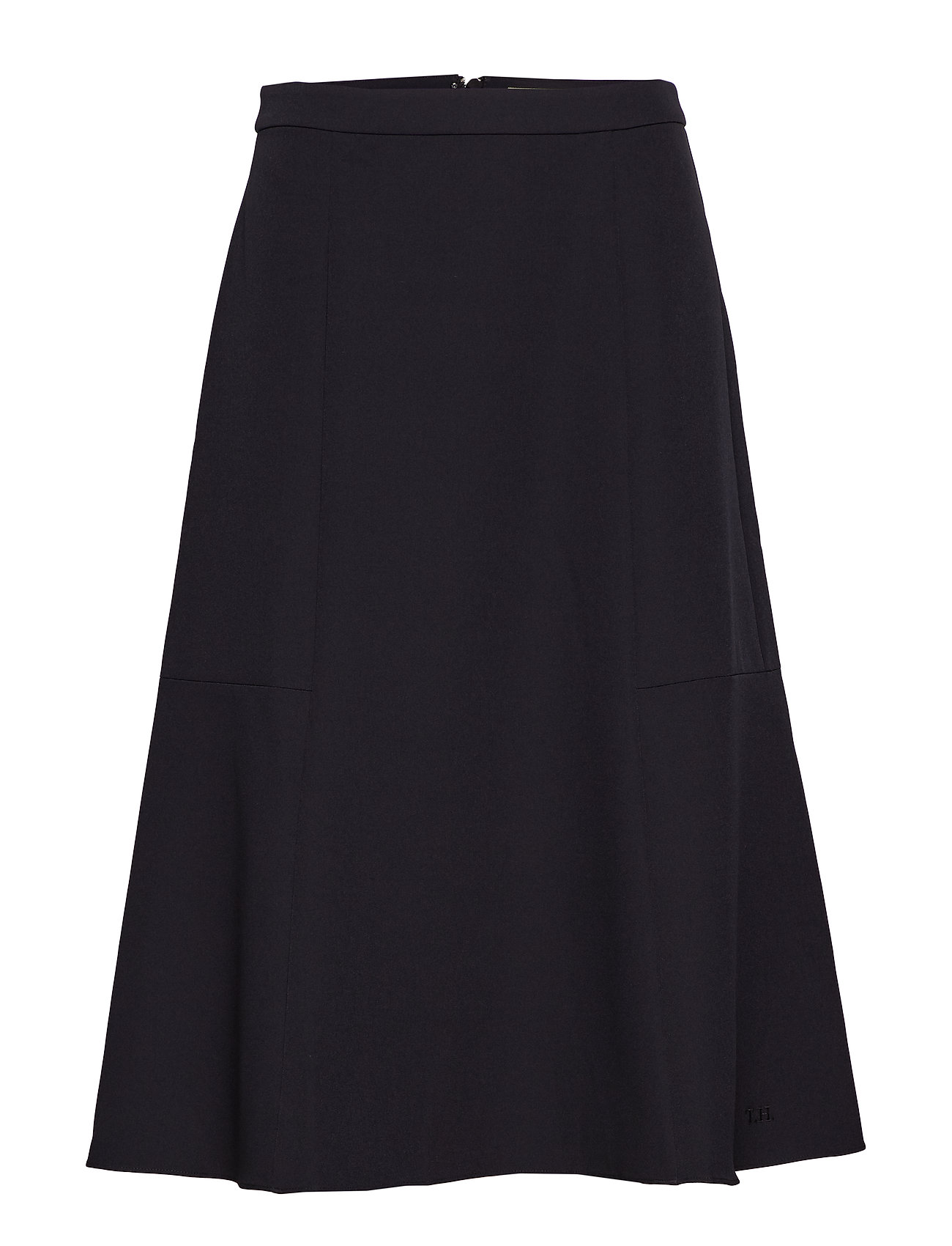 Tommy Hilfiger ANGELA SKIRT - BLACK BEAUTY