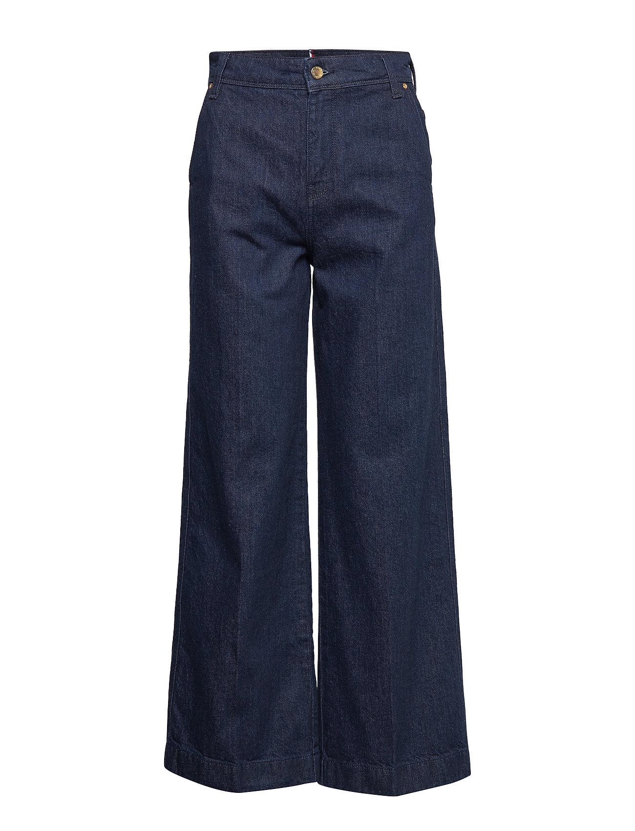 TOMMY HILFIGER Wide Leg Chino Hw Michella Jeans Mit Weitem Bein Loose Fit Blau TOMMY HILFIGER