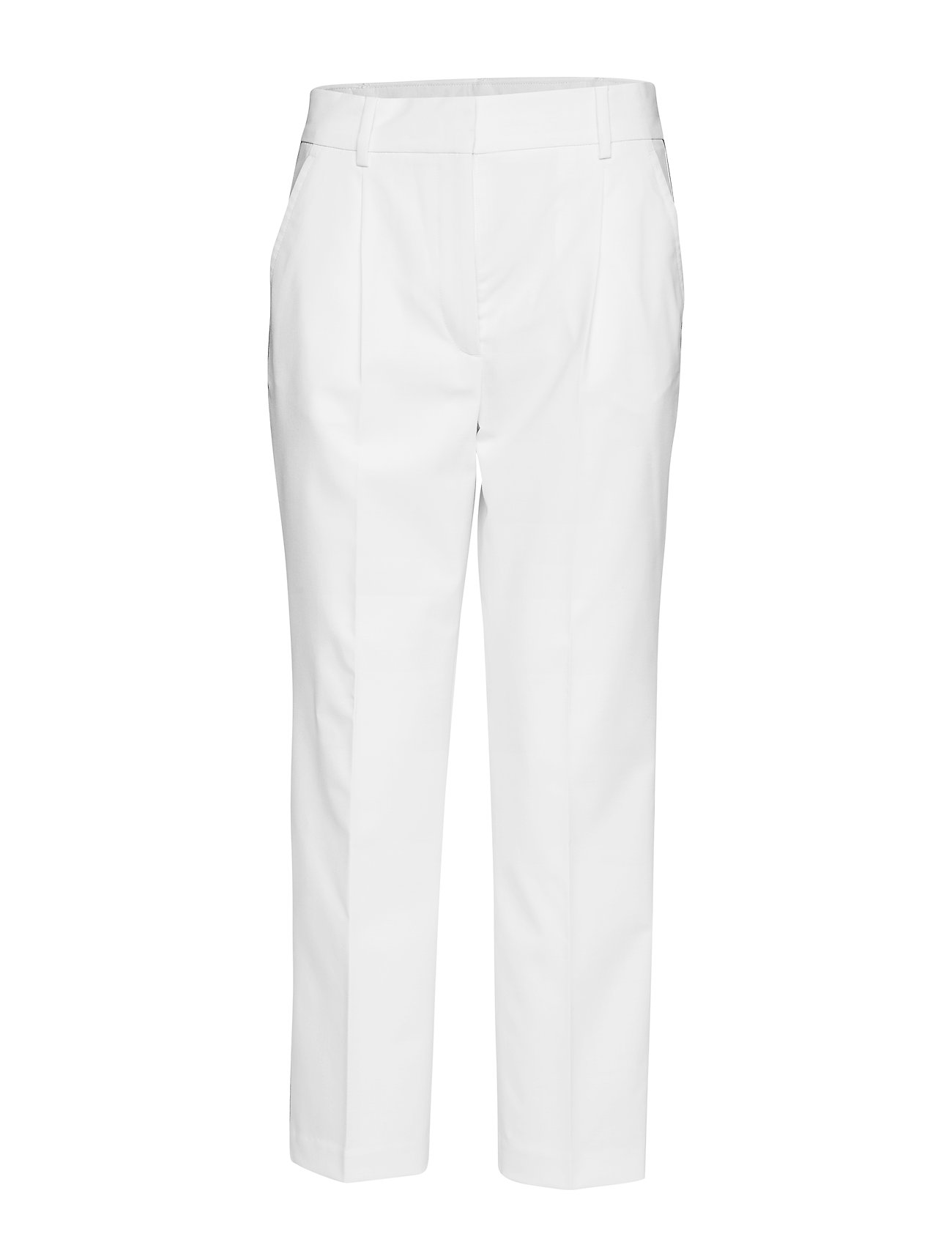 Tommy Hilfiger PETRA HW PLEATED ANK - CLASSIC WHITE