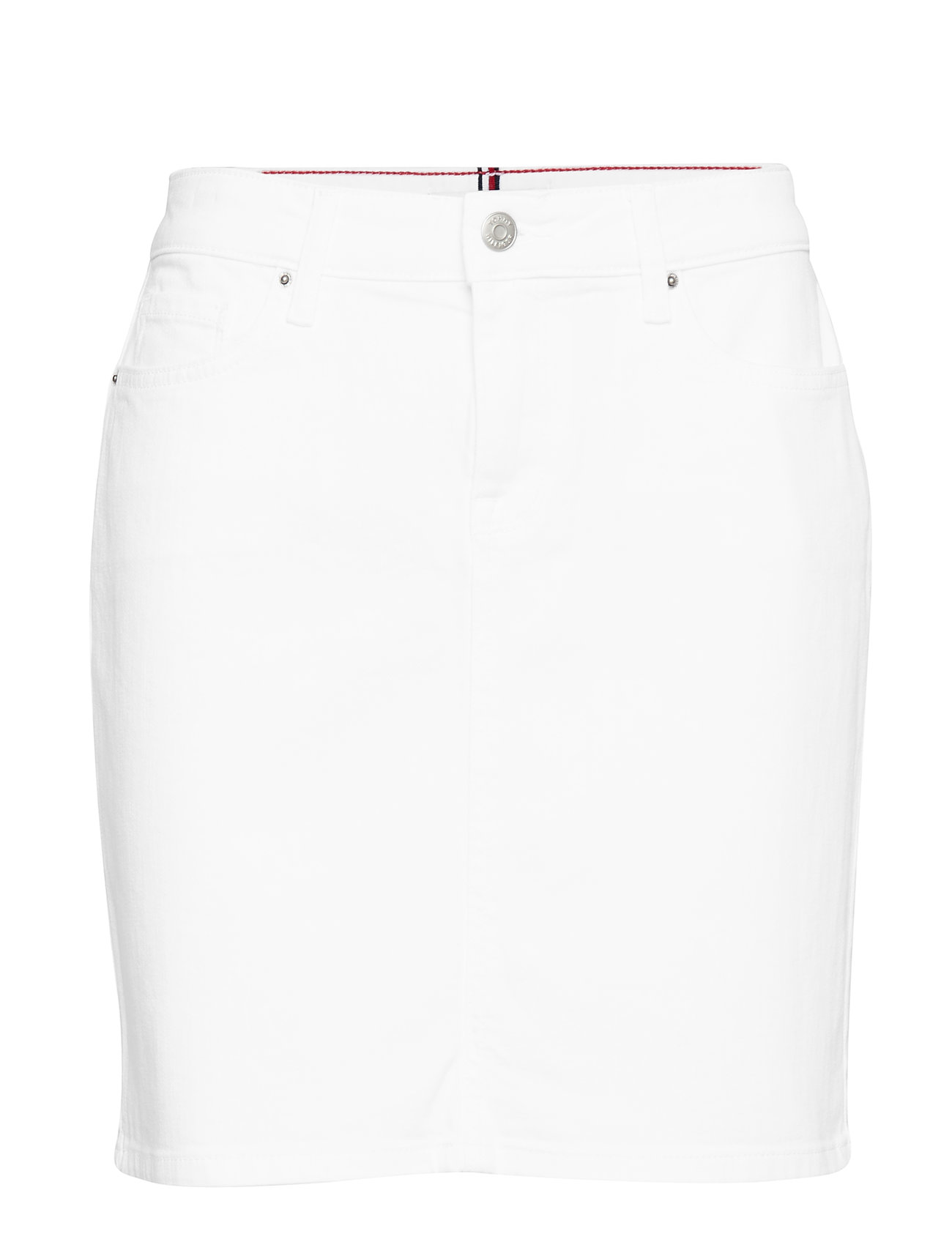 Tommy Hilfiger ROME RW SKIRT CLR - CLASSIC WHITE