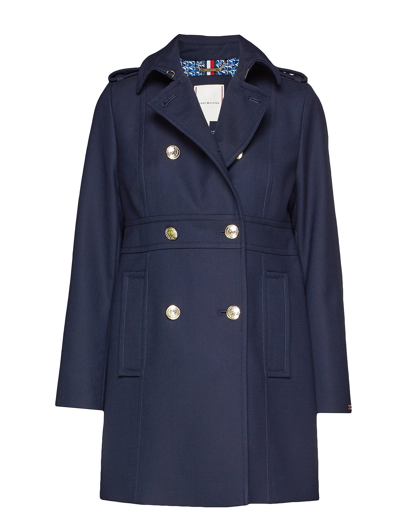 Tommy Hilfiger MADISON COAT - SKY CAPTAIN