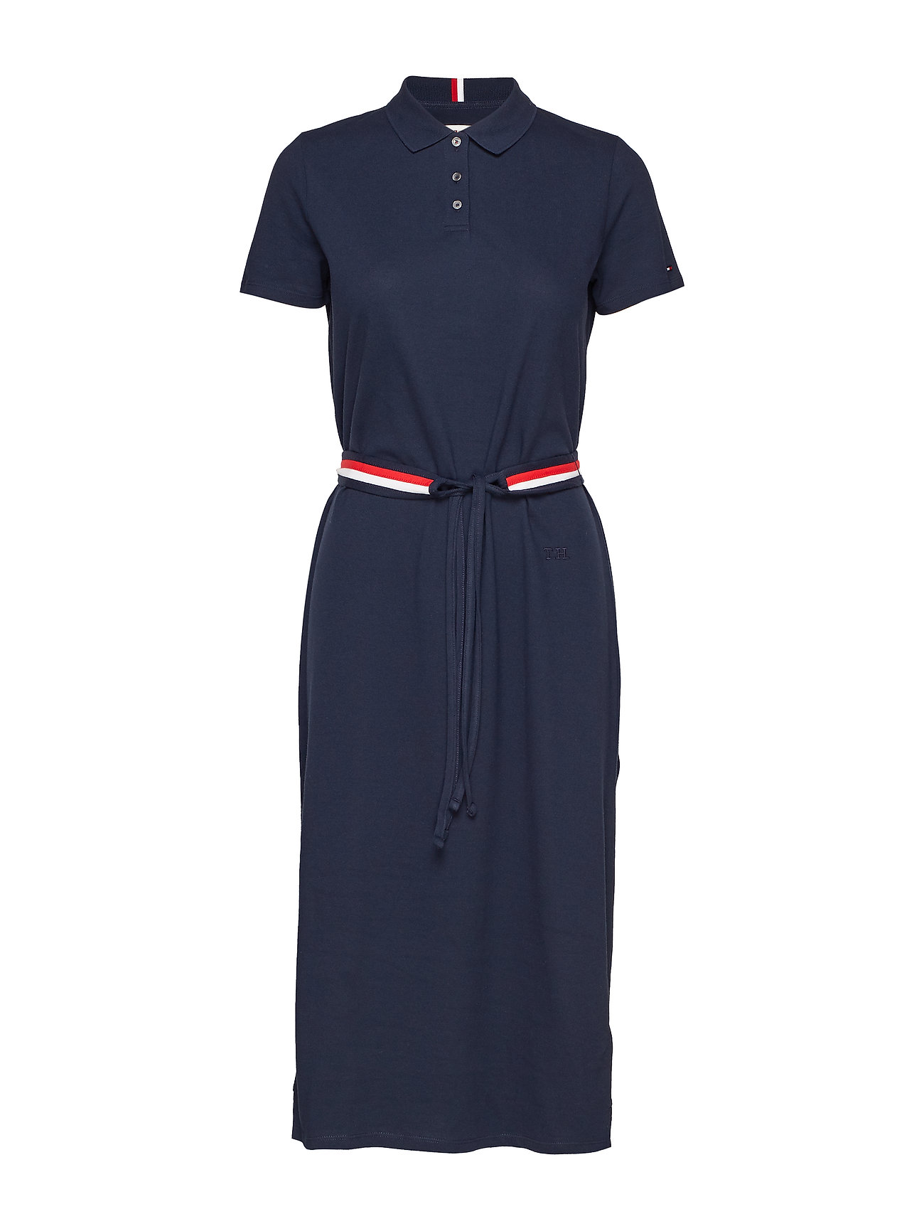 Tommy Hilfiger TH ESSENTIAL POLO DR - SKY CAPTAIN