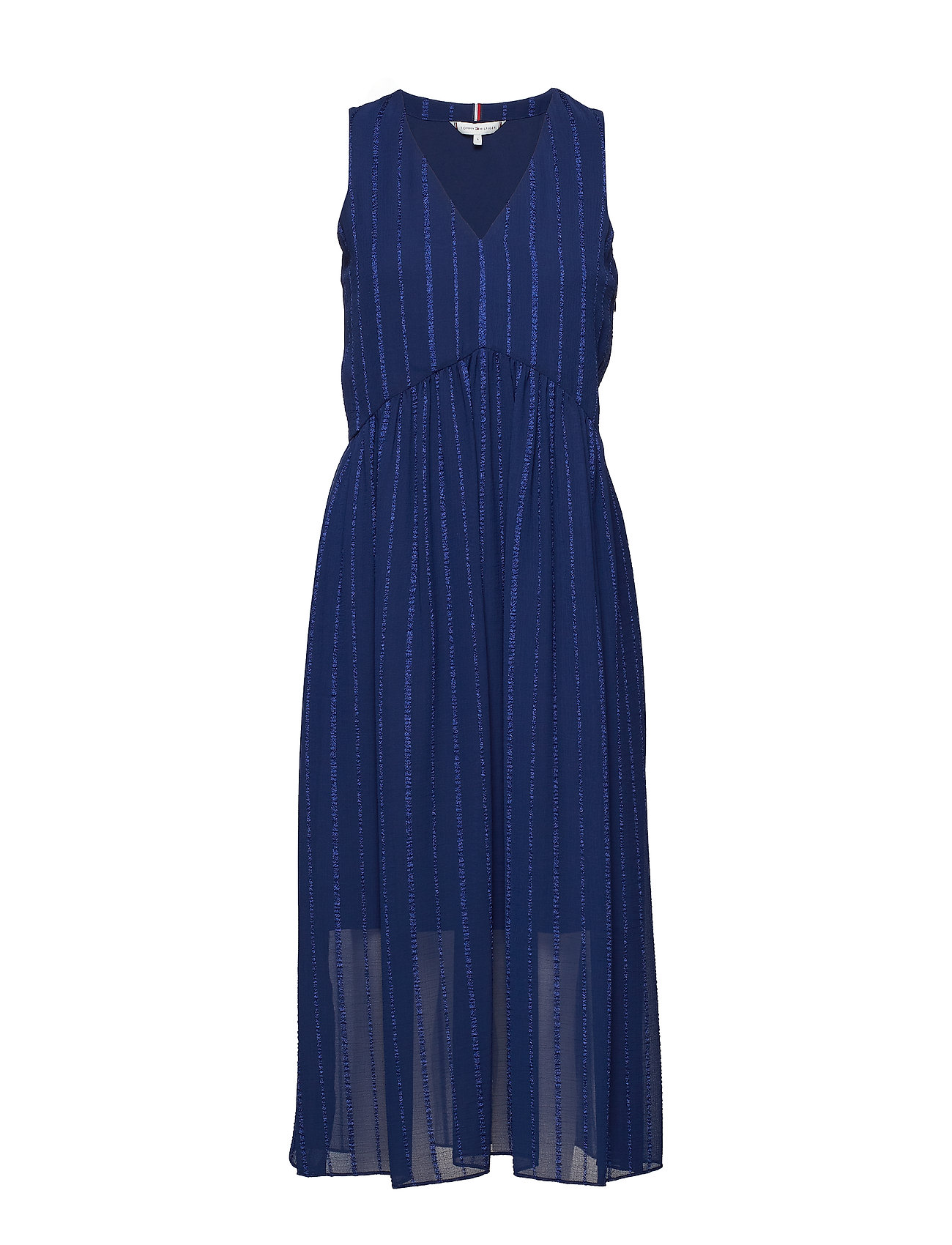 Tommy Hilfiger EVA DRESS NS - MEDIEVAL BLUE