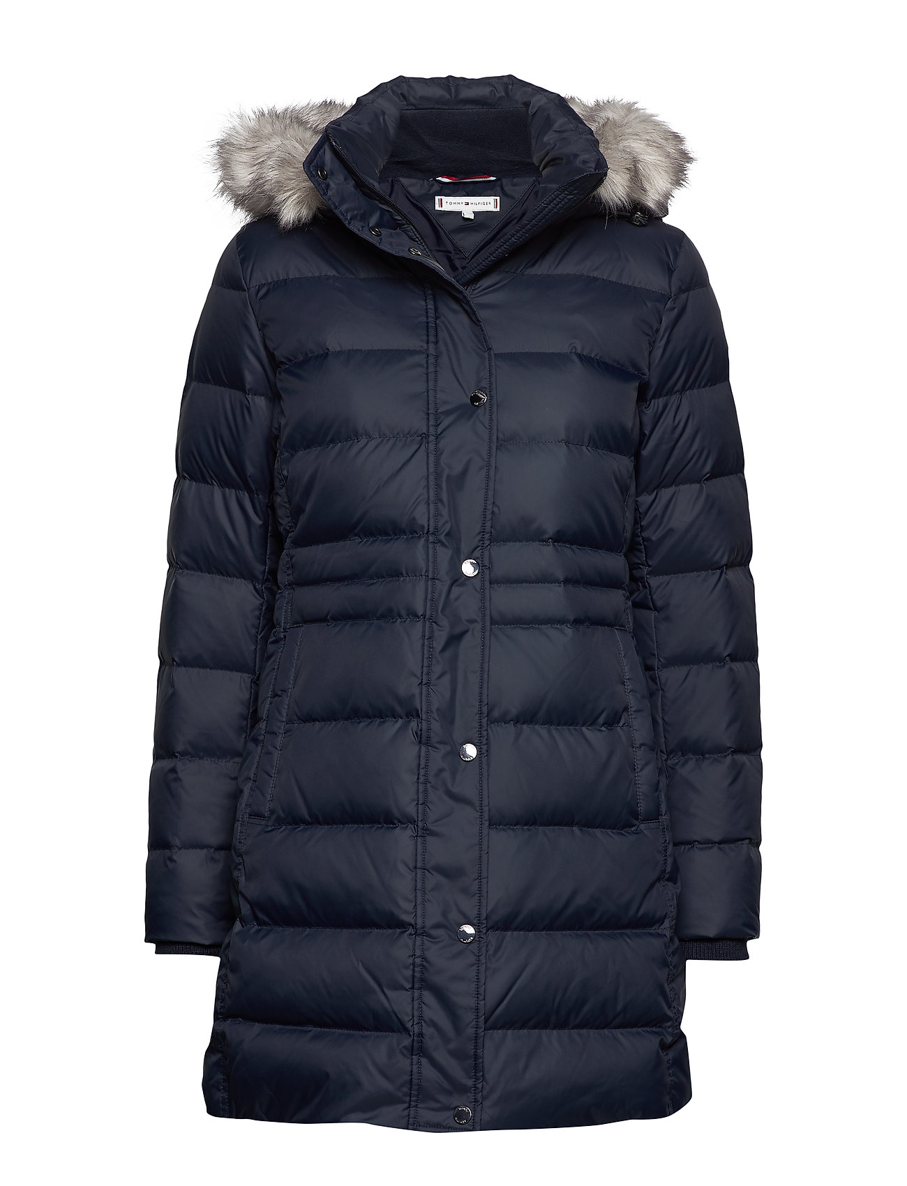 Tommy Hilfiger NEW TYRA DOWN COAT - SKY CAPTAIN