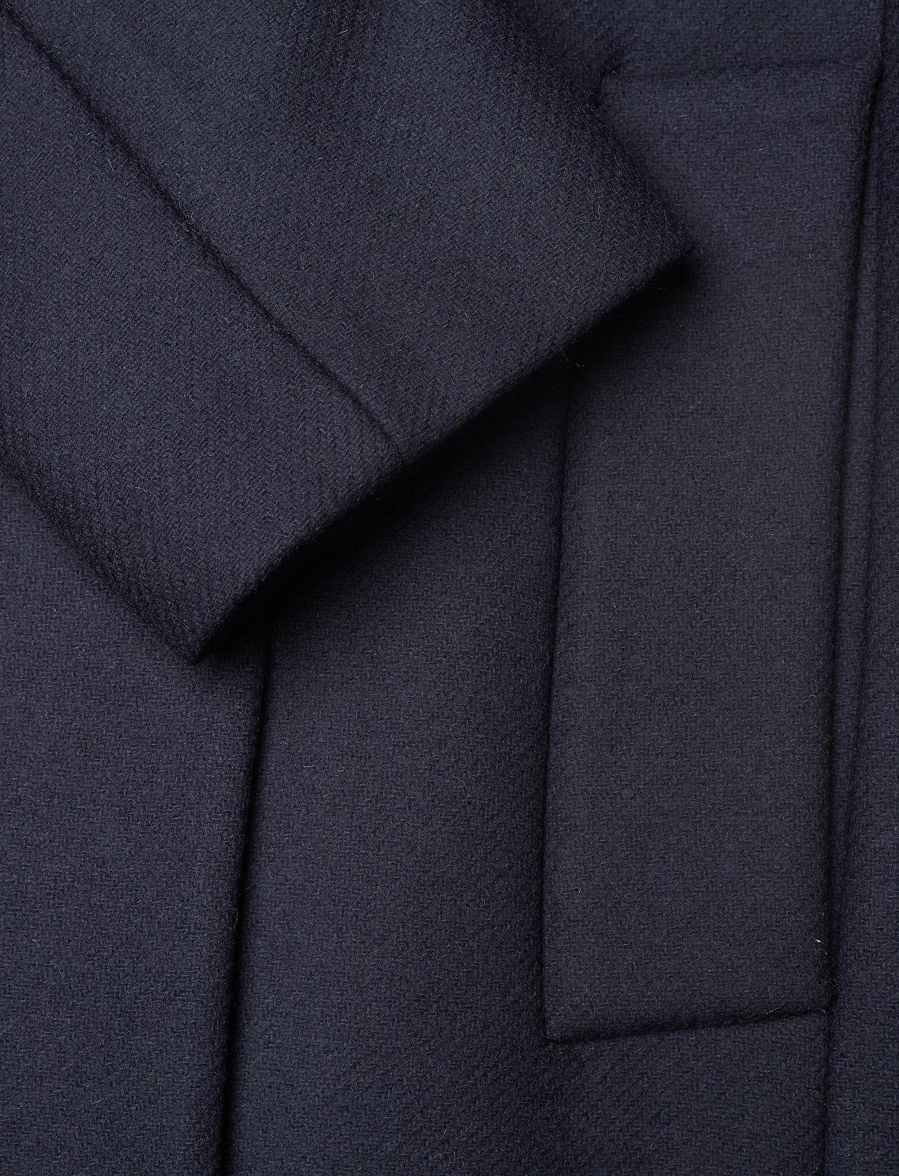 Tommy Hilfiger Belle Wool Blend Belted Coat - Jackor & Kappor Sky Captain