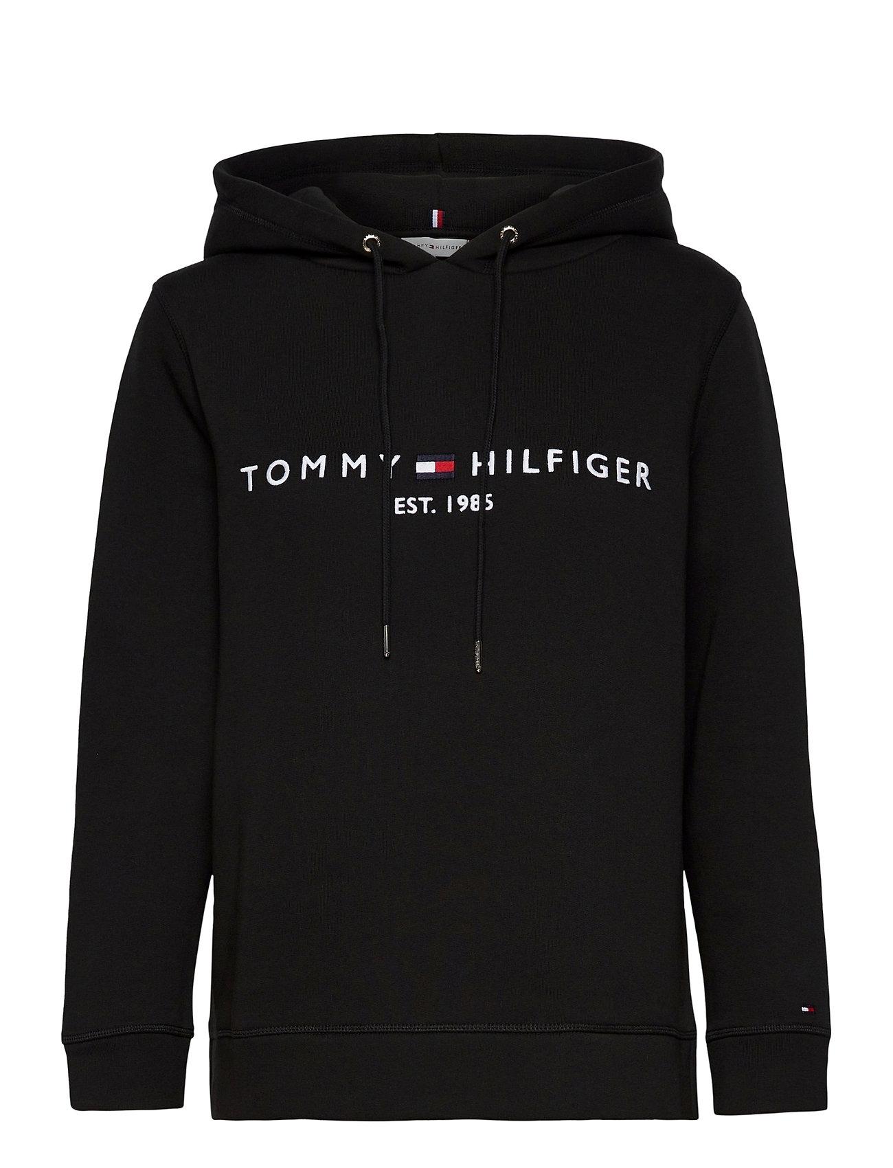 Tommy Hilfiger TH ESS HILFIGER HOOD - BLACK