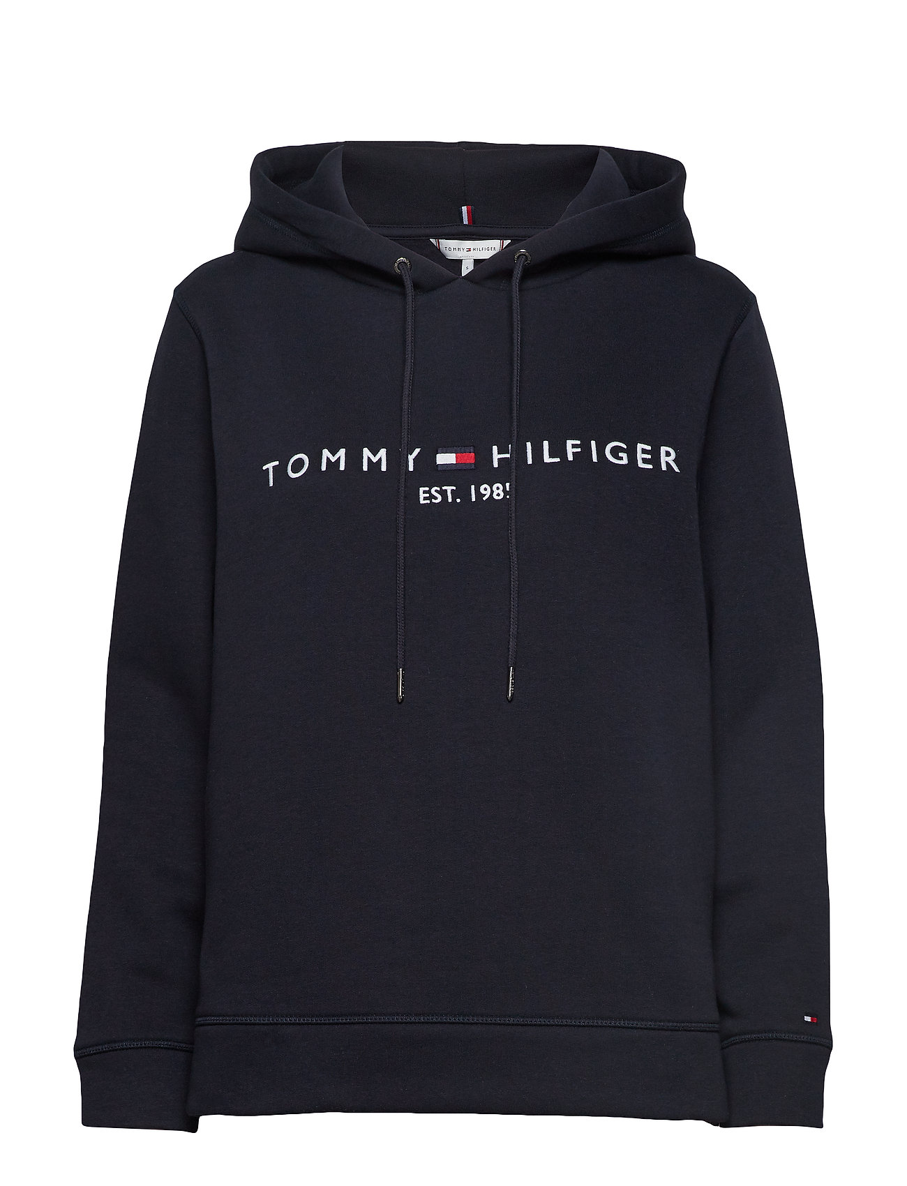 Tommy Hilfiger TH ESS HILFIGER HOODIE LS - SKY CAPTAIN