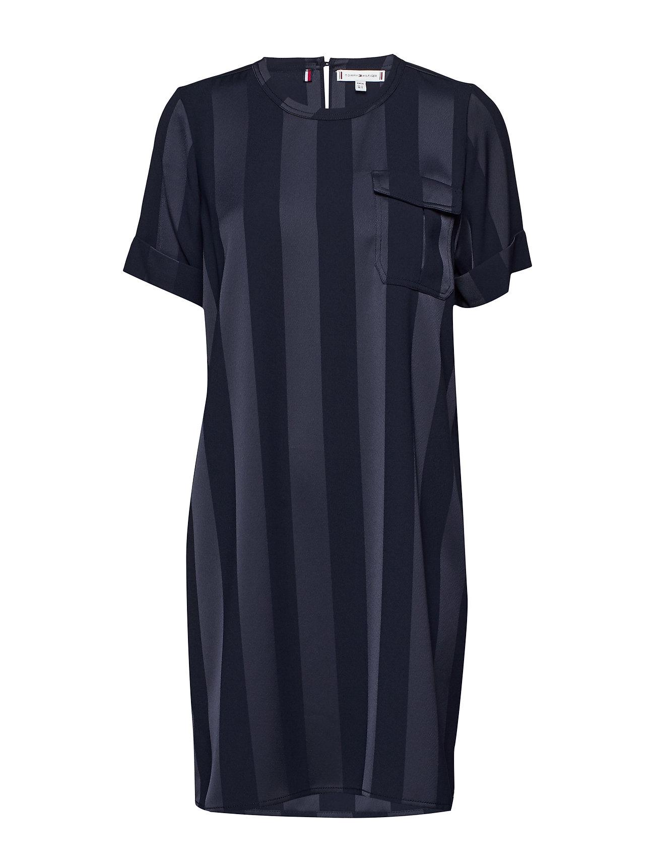 Tommy Hilfiger FIFI DRESS SS - DESERT SKY