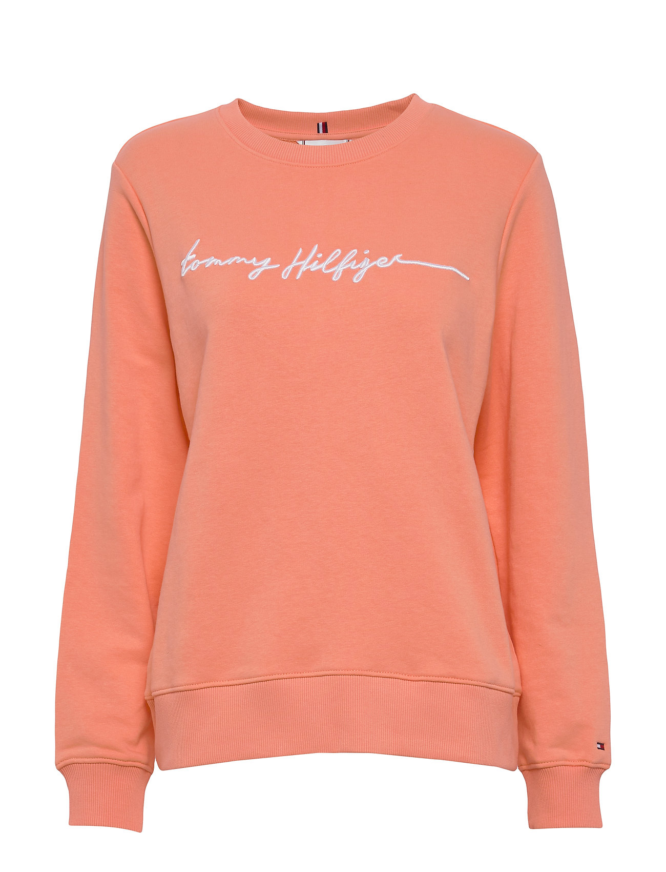Tommy Hilfiger ANNIE RELAXED C-NK SWEATSHIRT LS - ISLAND CORAL
