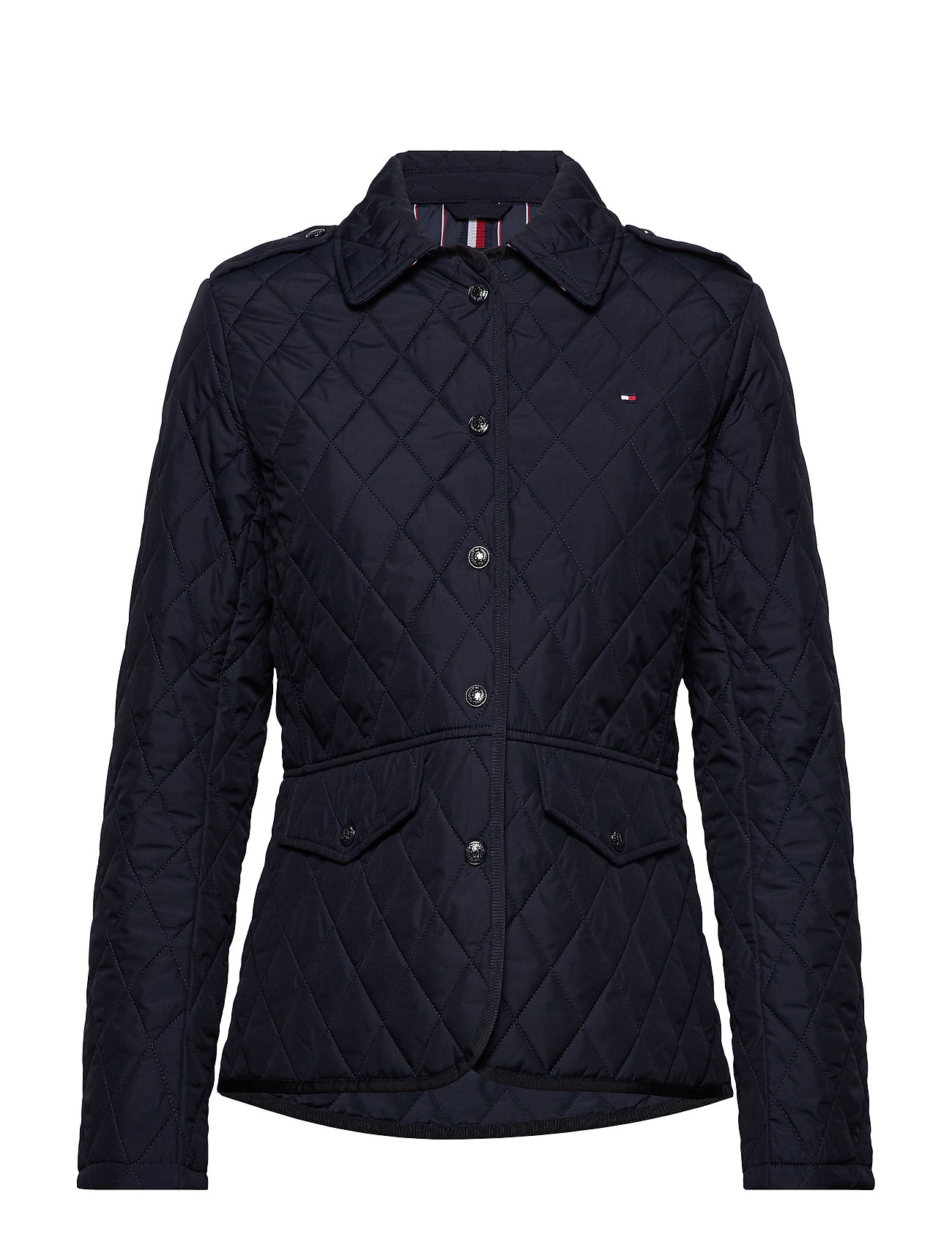 Tommy Hilfiger TH ESS QUILTED JACKET - DESERT SKY