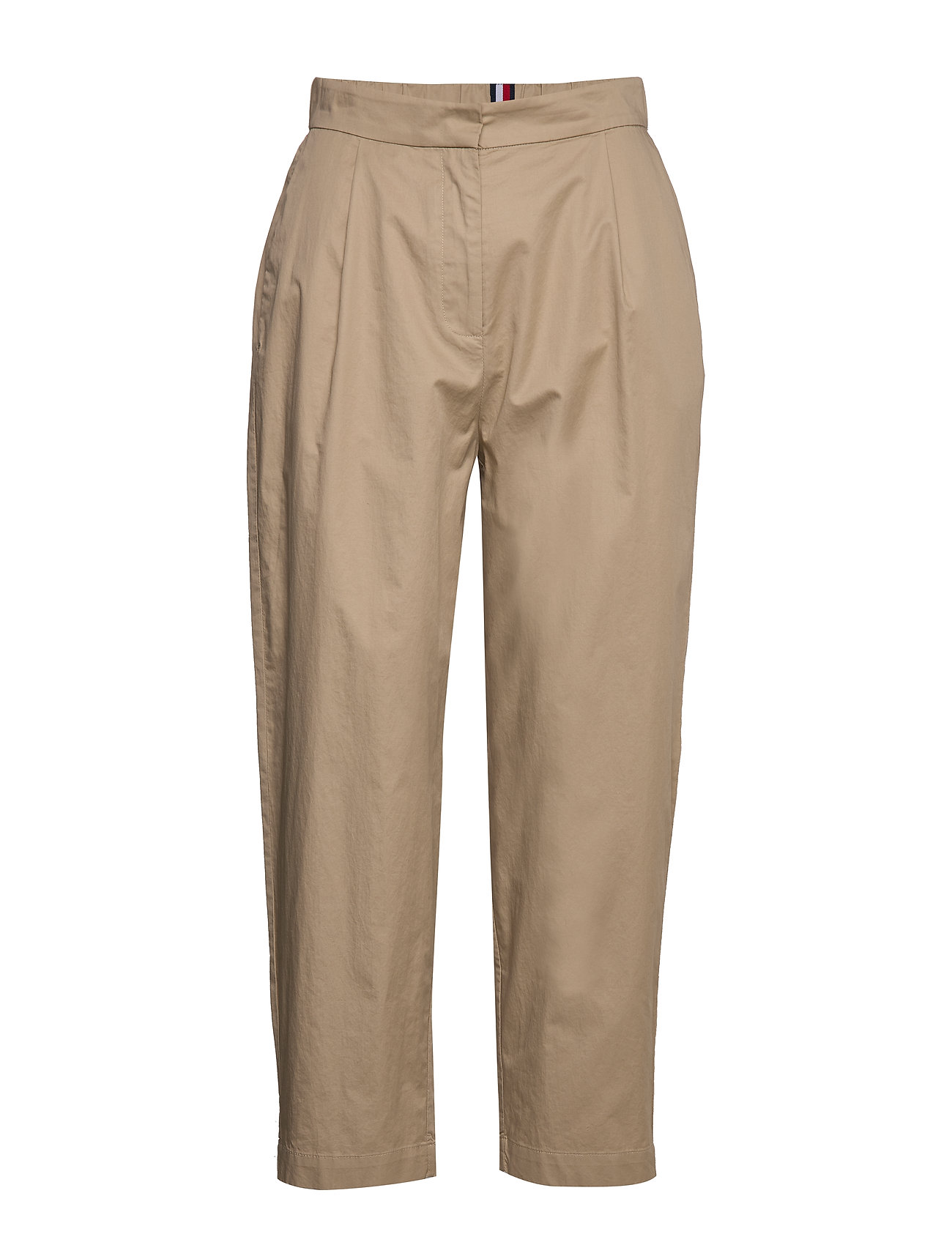 Tommy Hilfiger COTTON POPLIN TAPERED PANT - BEIGE