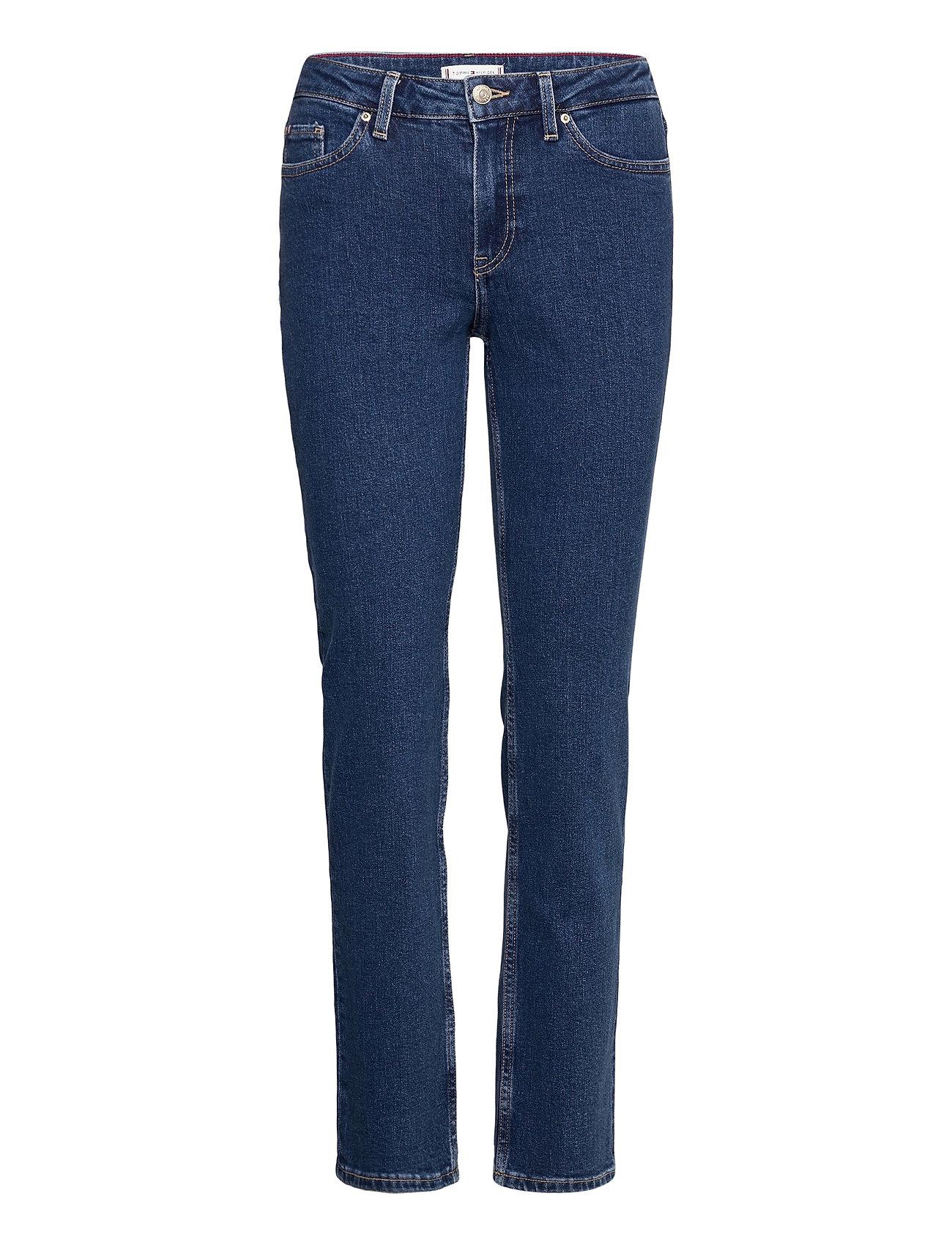 Rome Straight Rw Chris Slim Jeans Blå Tommy Hilfiger