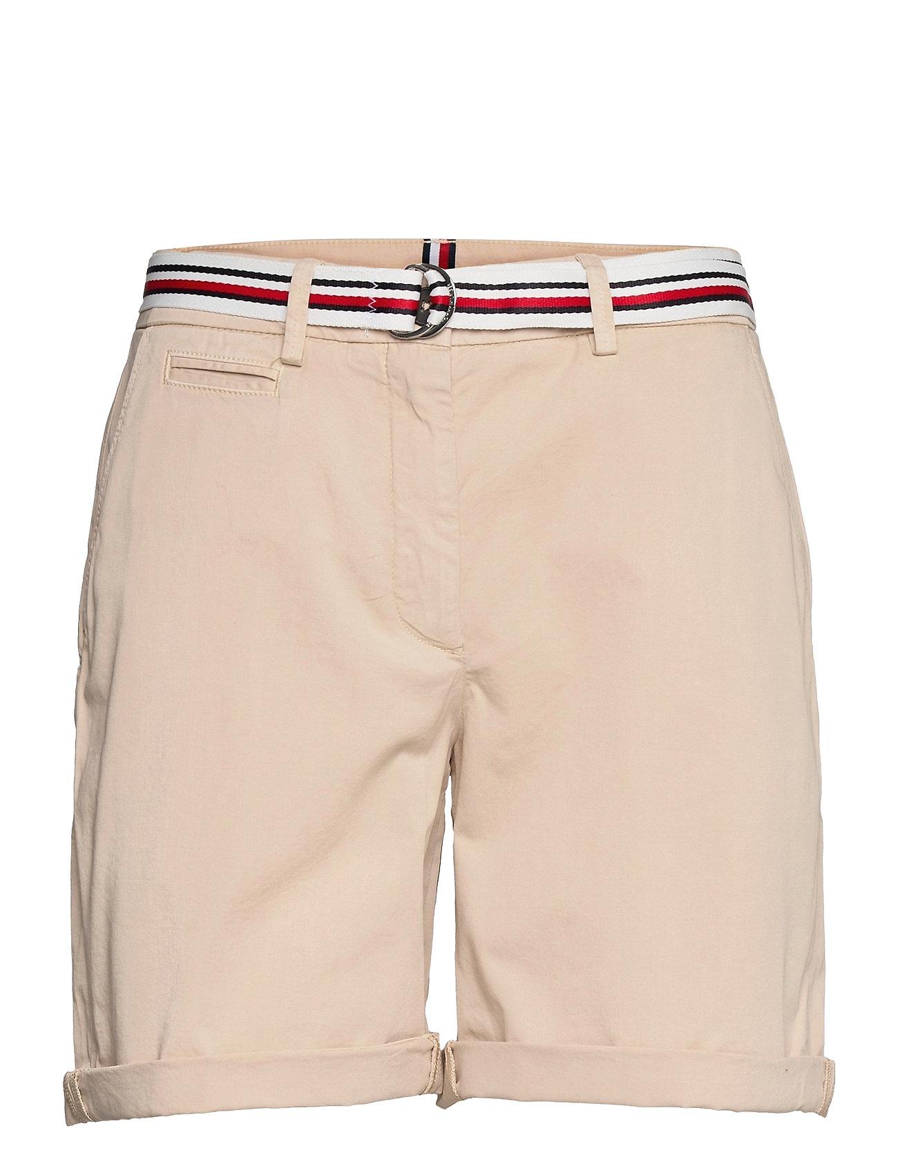 Image of Cotton Tencel Chino Rw Short Shorts Chino Shorts Beige Tommy Hilfiger (3507965171)