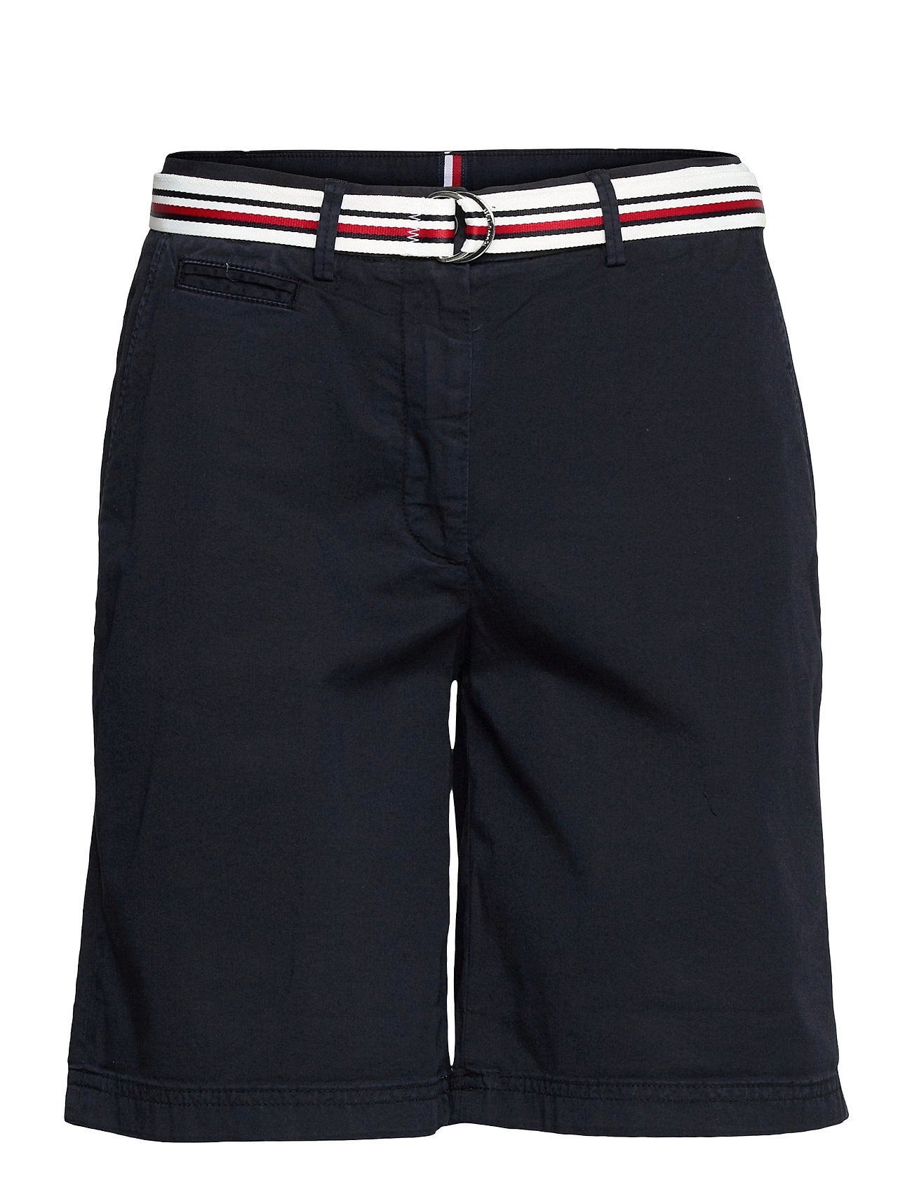 Image of Cotton Tencel Chino Rw Short Shorts Chino Shorts Blå Tommy Hilfiger (3507965169)