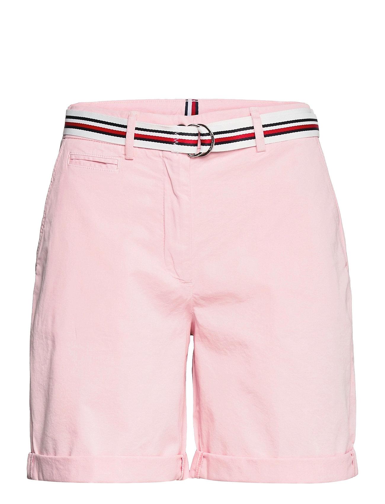 Image of Cotton Tencel Chino Rw Short Shorts Chino Shorts Lyserød Tommy Hilfiger (3507356587)