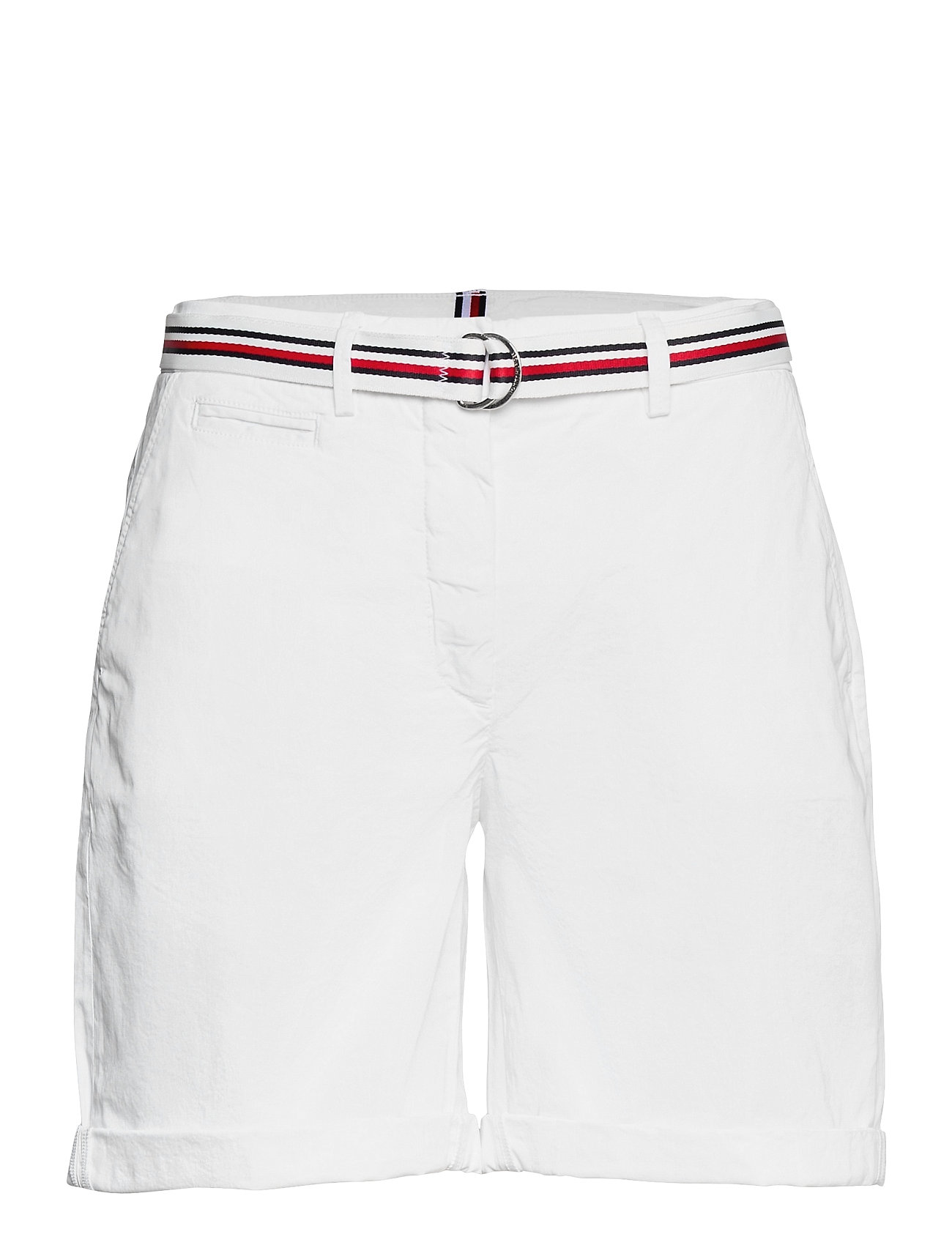 Image of Cotton Tencel Chino Rw Short Shorts Chino Shorts Hvid Tommy Hilfiger (3507356585)
