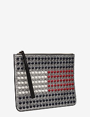 Tommy Hilfiger - TOMMY ICON PEARL FLA - clutches - silver / multi - 3