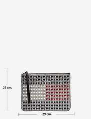 Tommy Hilfiger - TOMMY ICON PEARL FLA - clutches - silver / multi - 7