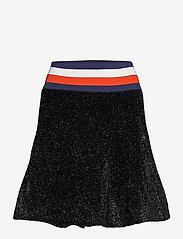 Tommy Hilfiger - LUREX FLARE SKIRT - korta kjolar - meteorite - 0
