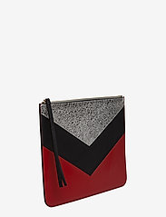 Tommy Hilfiger - CHEVRON TOMMY POUCH - clutches - peacoat / multi - 3