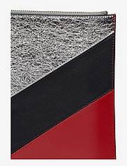 Tommy Hilfiger - CHEVRON TOMMY POUCH - clutches - peacoat / multi - 4