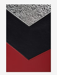 Tommy Hilfiger - CHEVRON TOMMY POUCH - clutches - peacoat / multi - 5