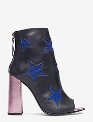 Tommy Hilfiger - MESH STAR ANKLE BOOT - heeled ankle boots - medieval blue / multi - 1