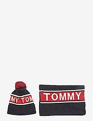 Tommy Hilfiger - LOGO SCARF & BEANIE - bonnet - corporate - 0