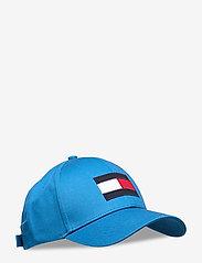 Tommy Hilfiger - BIG FLAG CAP - casquettes - regatta blue - 0