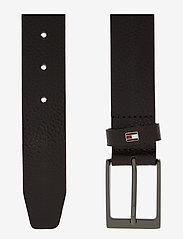Tommy Hilfiger - LAYTON PEBBLE LEATHER 3.5 - classic belts - testa di moro - 1