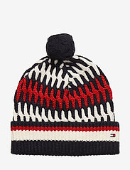 Tommy Hilfiger - TAILORED CABLE BEANI - bonnet - corporate - 0
