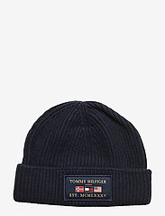 Tommy Hilfiger - OUTDOORS PATCH BEANI - bonnet - sky captain - 0