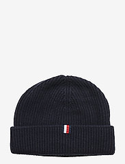 Tommy Hilfiger - OUTDOORS PATCH BEANI - bonnet - sky captain - 1