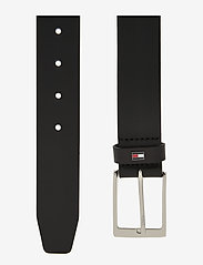 Tommy Hilfiger - LAYTON LEATHER 3.5 - classic belts - black - 1