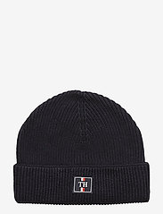 Tommy Hilfiger - TH PATCH KNIT BEANIE - bonnet - sky captain - 0