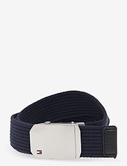 Tommy Hilfiger - SLIDER BUCKLE 3.5 - belts - sky captain - 0
