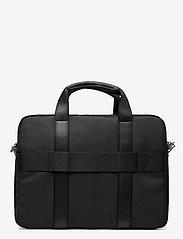 Tommy Hilfiger - UPTOWN NYLON COMPUTER BAG - computertasker - black 660-910 - 1