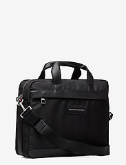 Tommy Hilfiger - UPTOWN NYLON COMPUTER BAG - computertasker - black 660-910 - 2