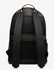 Tommy Hilfiger - ELEVATED NYLON BACKPACK - backpacks - camo green - 2