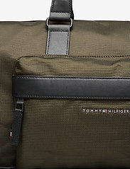 Tommy Hilfiger - ELEVATED NYLON DUFFLE - weekend bags - camo green - 3