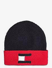 Tommy Hilfiger - BIG FLAG BEANIE - bonnet - corporate - 0