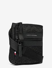 Tommy Hilfiger - ELEVATED NYLON MINI CROSSOV MONO - shoulder bags - black monogram - 2