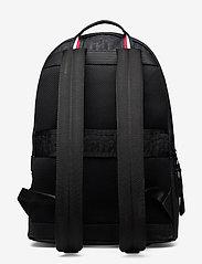 Tommy Hilfiger - ELEVATED NYLON BACKPACK MONO - bags - black monogram - 1