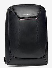 Tommy Hilfiger - TH COMMUTER TECH BACKPACK - backpacks - black - 0