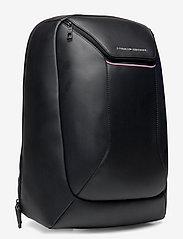 Tommy Hilfiger - TH COMMUTER TECH BACKPACK - backpacks - black - 2
