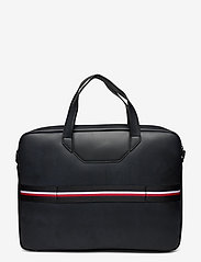 Tommy Hilfiger - TH COMMUTER COMPUTER BAG - laptop bags - black - 1